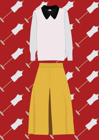 blouse en broek