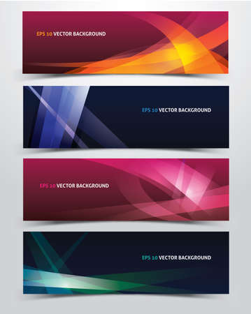 abstract vector backgrounds Vectores