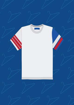 white t shirt Illusztráció