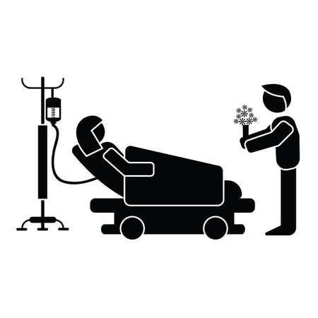 visite à l'hôpital