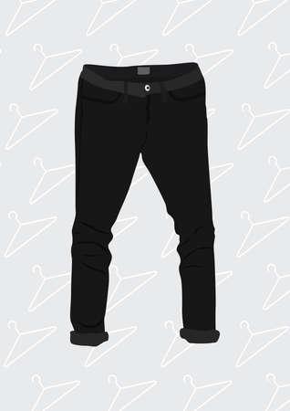 pants 向量圖像