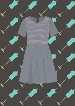 jurk Stock Illustratie