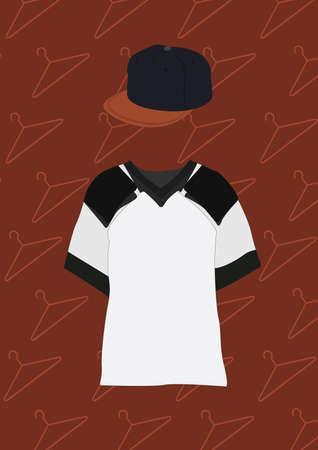 t shirt and cap