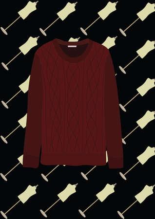 스웨터 일러스트