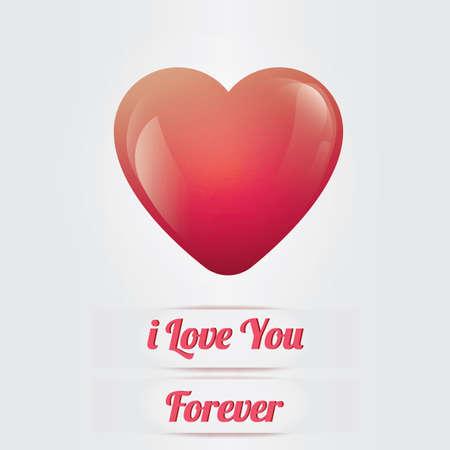 love greeting card Stock fotó - 106675154