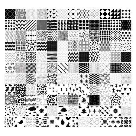 Collection de dessins abstraits Banque d'images - 81537600