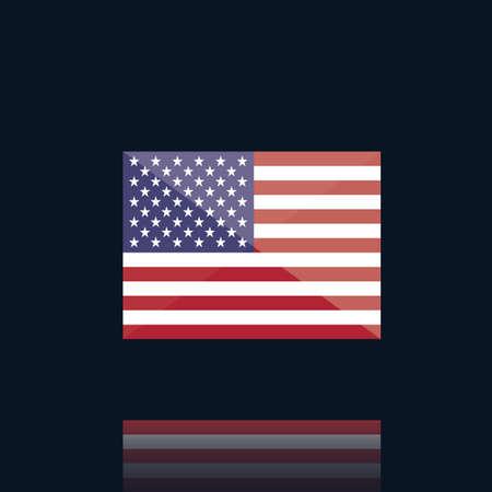 america flag Stock fotó - 106675161