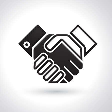 Handshake-Symbol Standard-Bild - 81537613