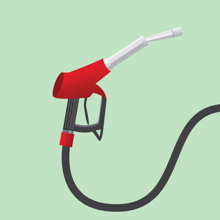 fuel pump nozzle Illustration