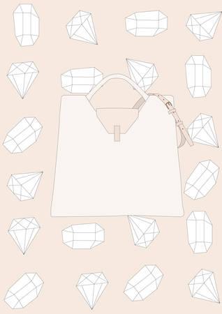 handbag Illusztráció