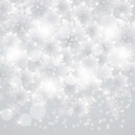 雪雪の結晶デザイン