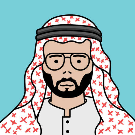 thawbs: middle eastern man