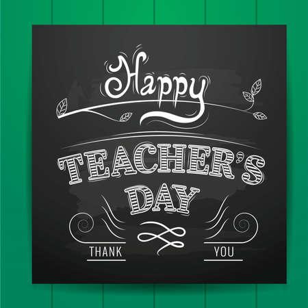 felice design del giorno dell'insegnante