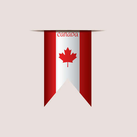 canadian flag: canadian flag ribbon