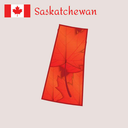 saskatchewan: Map of saskatchewan, canada