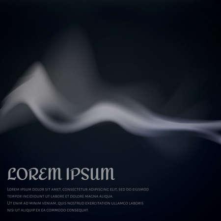 Rook achtergrond ontwerp Stock Illustratie
