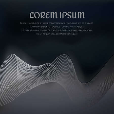 smoke background design Vector Illustration