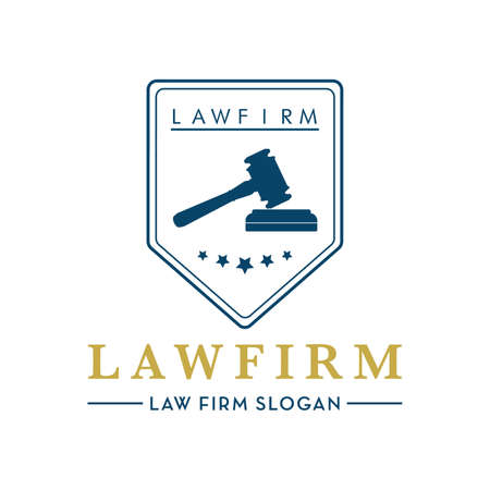 impartiality: law firm design Illustration