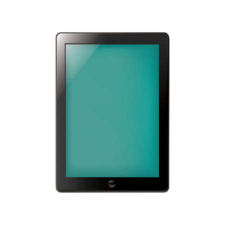 tablet: tablet pc Illustration