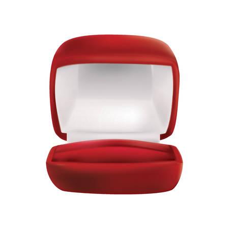 wedding ring box Illustration