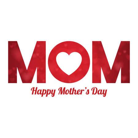 happy mothers day design Illusztráció