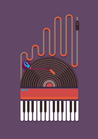 phono organ turntable