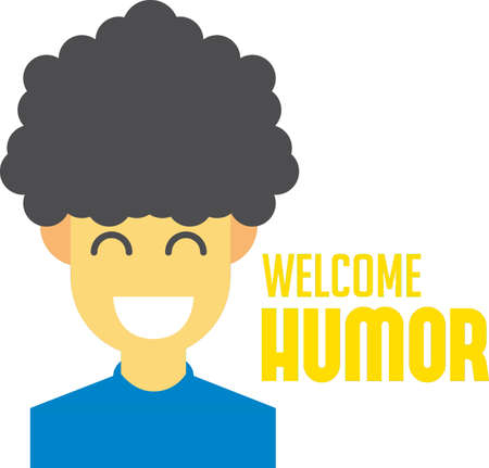 welcome humor design