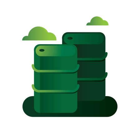 environmental awareness: oil tanks