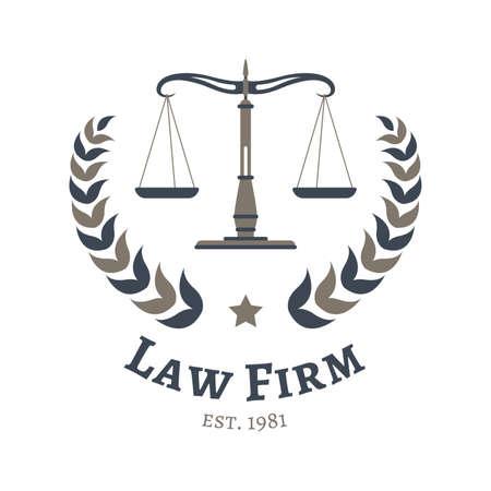 법률 회사 디자인 일러스트