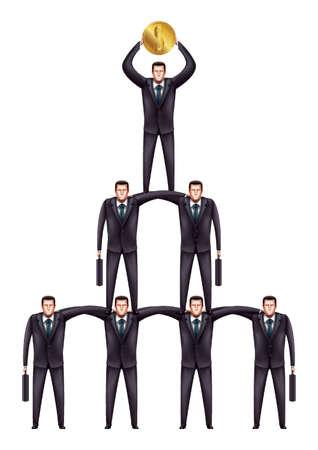 teamwork: business teamwork concept