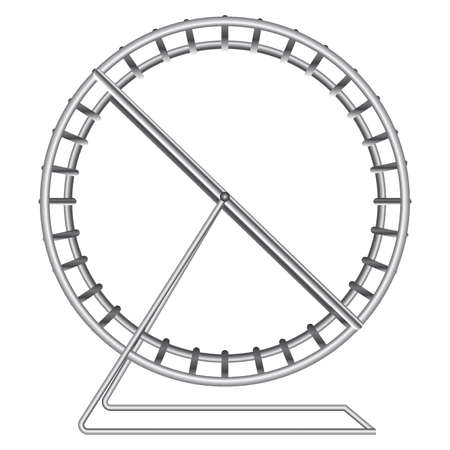 never ending: running wheel design