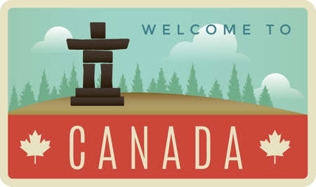 reference point: welcome to canada label design