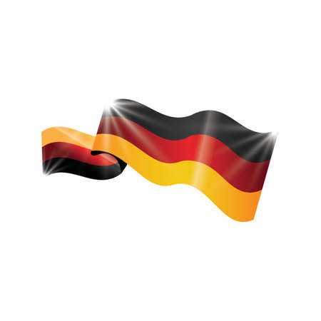 germany flag button design