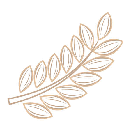 wheat stalk Ilustração