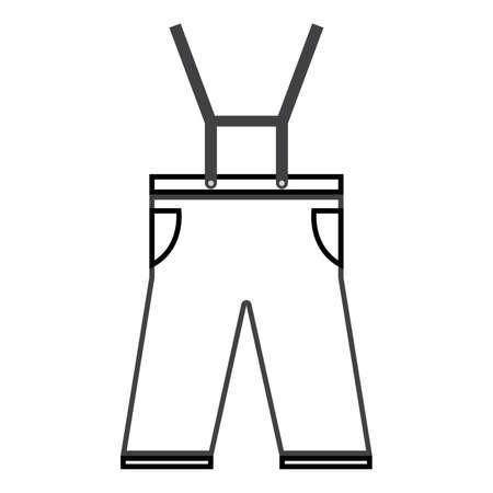 Leather breech Illustration