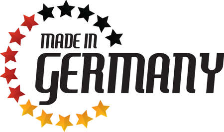 made in germany label design
