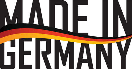 made: made in germany label design