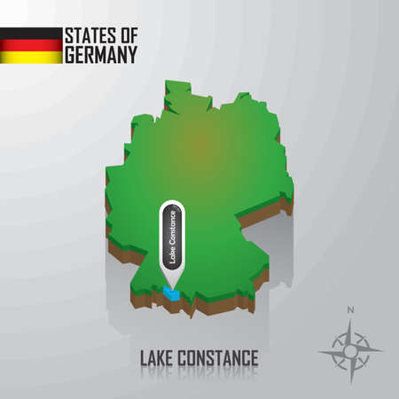map of lake constance, germany