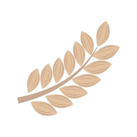 stalk: wheat stalk Illustration
