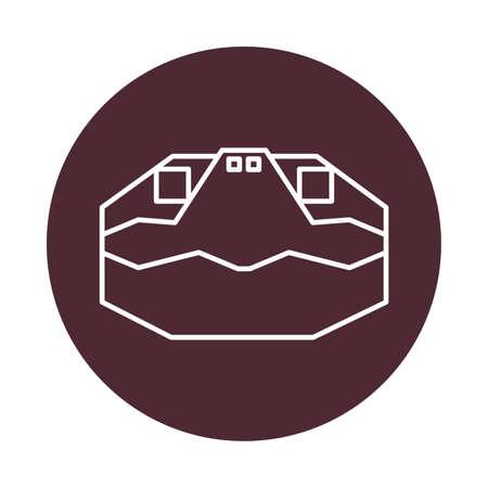 turtle head Stock Vector - 73755271
