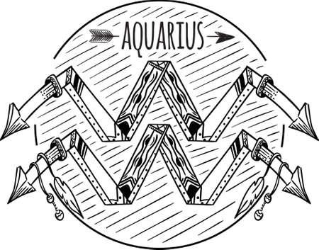 tribal aquarius: Aquarius