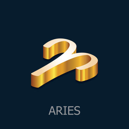 character traits: Aries Illustration