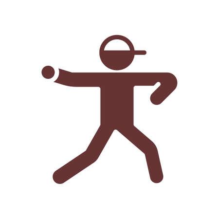 baseball pitcher Illustration