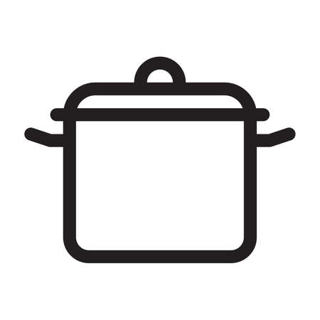 cooking pot Illustration