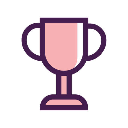 winning trophy Illustration