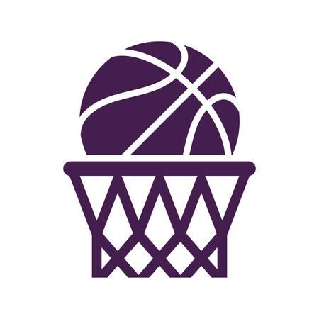 basketball hoop Stock Illustratie