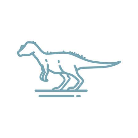 allosaurus Illustration