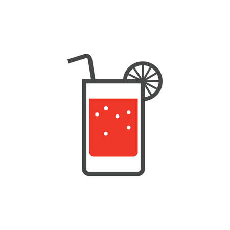 glass of drink icon Ilustrace