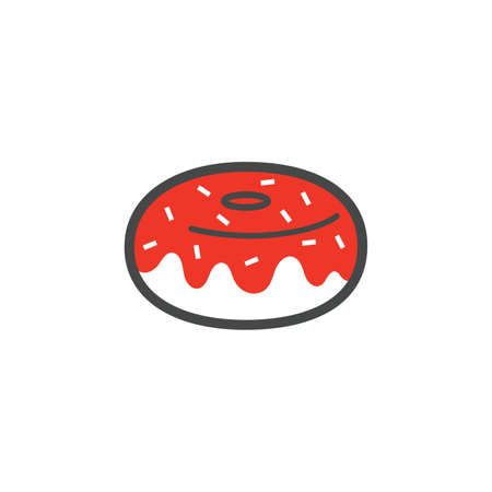 donut icon Illustration