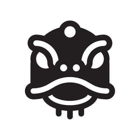 icône de la danse du lion chinois